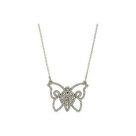 ブライトン Brighton レディース ネックレス ジュエリー・アクセサリー【Illumina Petite Butterfly Necklace】Silver/Crystal