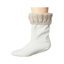 ハンター Hunter レディース ソックス インナー・下着【6 Stitch Cable Boot Sock - Short】Greige
