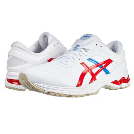 アシックス ASICS レディース ランニング・ウォーキング シューズ・靴【GEL-Kayano 26】White/Classic Red