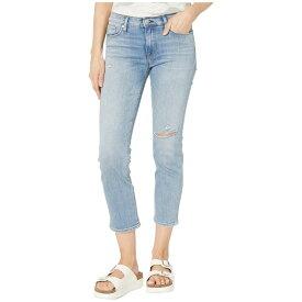 ハドソンジーンズ Hudson Jeans レディース ジーンズ・デニム ボトムス・パンツ【Nico Straight Mid-Rise Crop Straight with Deconstruction in Recover】Recover