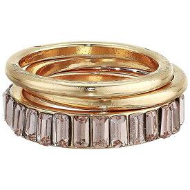 ゲス GUESS レディース 指輪・リング ジュエリー・アクセサリー【Trio Stacker Ring Set】Gold