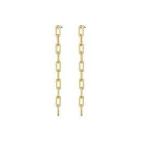 ケネスジェイレーン Kenneth Jay Lane レディース イヤリング・ピアス ジュエリー・アクセサリー【Gold Small Links Chain Drop Post Earrings】Gold