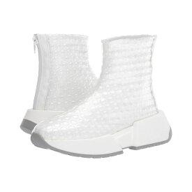 メゾン マルジェラ MM6 Maison Margiela レディース スニーカー シューズ・靴【Bubble Effect Tall Sneaker】Transparent/Bright White