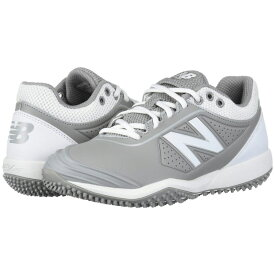 ニューバランス New Balance メンズ 野球 シューズ・靴【Fuse v2 Turf】Grey/White
