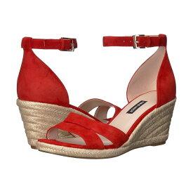 ナインウエスト Nine West レディース エスパドリーユ ウェッジソール サンダル・ミュール シューズ・靴【Jabrina Espadrille Wedge Sandal】Fiery Red