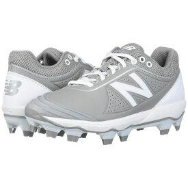 ニューバランス New Balance メンズ 野球 シューズ・靴【Fuse v2 TPU】Grey/White