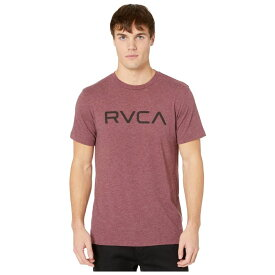 ルーカ RVCA メンズ Tシャツ トップス【Big T-Shirt Shot Sleeve】Oxblood Red