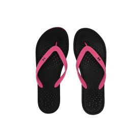 アンダーアーマー Under Armour レディース ビーチサンダル シューズ・靴【UA Atlantic Dune T】Black/Pink Surge/Black
