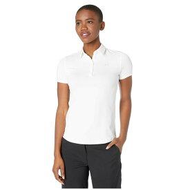 アンダーアーマー Under Armour Golf レディース ポロシャツ 半袖 トップス【Zinger Short Sleeve Polo】White/Halo Gray