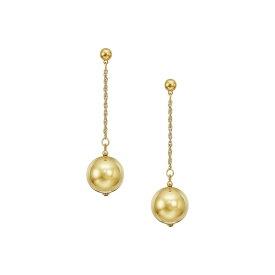 ケネスジェイレーン Kenneth Jay Lane レディース イヤリング・ピアス ジュエリー・アクセサリー【20mm Polished Gold Ball 1.5' Chain With Ball Top Post Earrings】