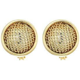 ラルフ ローレン LAUREN Ralph Lauren レディース イヤリング・ピアス ジュエリー・アクセサリー【Clip Mesh Ball Button Earrings】Gold