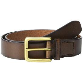 フォッシル Fossil メンズ ベルト 【Morrison Leather Belt】Dark Brown