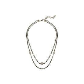 ブライトン Brighton レディース ネックレス ジュエリー・アクセサリー【Meridian Equinox Double Necklace】Crystal
