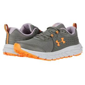 アンダーアーマー Under Armour レディース ランニング・ウォーキング シューズ・靴【Charged Toccoa 2】Surface Gray/Purple Haze/Orange Spark