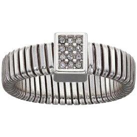 ブライトン Brighton レディース 指輪・リング ジュエリー・アクセサリー【Meridian Zenith Tubogas Soft Ring】Crystal