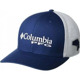 コロンビア Columbia レディース キャップ 帽子【PFG Mesh(TM) Ballcap】Carbon/White/Red Spark/Bass