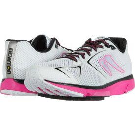 ニュートンランニング Newton Running レディース ランニング・ウォーキング シューズ・靴【Distance S 9】White/Fuchsia