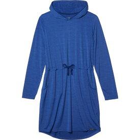 エクスオフィシオ ExOfficio レディース ワンピース ワンピース・ドレス【BugsAway Sol Cool Kaliani Dress】Admiral Blue Heather