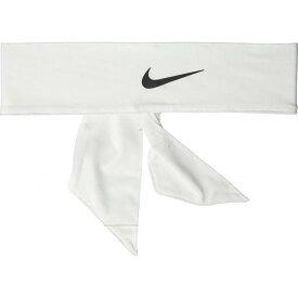 ナイキ Nike レディース ヘアアクセサリー ヘッドタイ【Dri-Fit Head Tie 3.0】White/Black