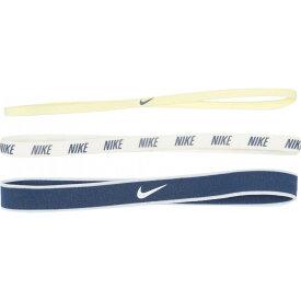 ナイキ Nike レディース ヘアアクセサリー 3点セット ヘッドバンド【Mixed Width Headbands 3-Pack】Luminous Green/Phantom/Mystic Navy