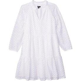 ジェイクルー J.Crew レディース ワンピース ワンピース・ドレス【Rebecca Dress in Eyelet】White