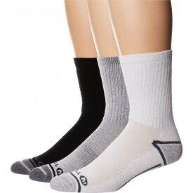 メレル Merrell メンズ ソックス 3点セット インナー・下着【Hiker Crew 3-Pack Socks】Gray Heather