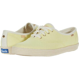 ケイト スペード Keds x kate spade new york レディース スニーカー シューズ・靴【Champion Neon Canvas】Yellow Canvas