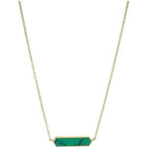ゴリアナ gorjana レディース ネックレス チャーム ジュエリー・アクセサリー【Corina Charm Necklace】Green Turquoise