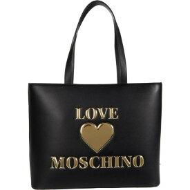 モスキーノ LOVE Moschino レディース トートバッグ バッグ【Logo Tote Bag】Black