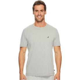 ノーティカ Nautica メンズ パジャマ・トップのみ インナー・下着【Knit Sleep T-Shirt】Grey Heather