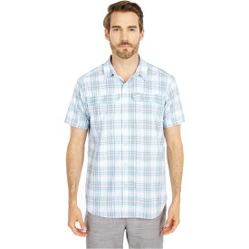 コロンビア Columbia メンズ 半袖シャツ トップス【Silver Ridge(TM) Short Sleeve Seersucker Shirt】Sky Blue Tartan Plaid