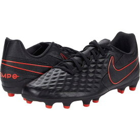 ナイキ Nike レディース サッカー シューズ・靴【Tiempo Legend 8 Club FG/MG】Black/Dark Smoke Grey/Chile Red
