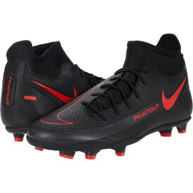 ナイキ Nike レディース サッカー シューズ・靴【Phantom GT Club DF FG/MG】Black/Chile Red/Dark Smoke Grey