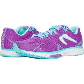 ニュートンランニング Newton Running レディース ランニング・ウォーキング シューズ・靴【Fate 6】Violet/Blue