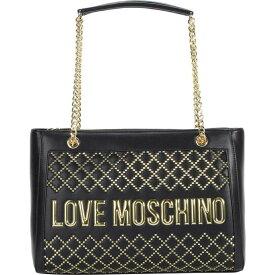 モスキーノ LOVE Moschino レディース トートバッグ バッグ【Studded Tote Bag】Black