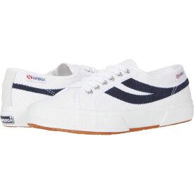 スペルガ Superga レディース シューズ・靴 【2953 Swallow Tail】White/Navy