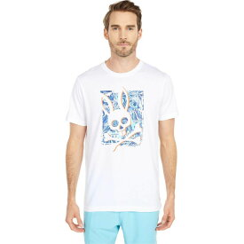 サイコバニー Psycho Bunny メンズ Tシャツ トップス【Larvik Tee】White
