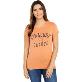 チャンピオン Champion College レディース Tシャツ トップス【Syracuse Orange Keepsake Tee】Southern Orange