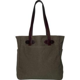 フィルソン Filson レディース トートバッグ バッグ【Tote Bag W/Out Zipper】Otter Green