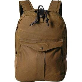 フィルソン Filson レディース バックパック・リュック バッグ【Journeyman Backpack】Tan
