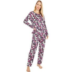 ケイト スペード Kate Spade New York レディース パジャマ・上下セット インナー・下着【Modal Jersey Knit Long Pajama Set】Painted Pansy