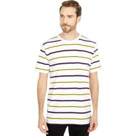 ヴァンズ Vans メンズ トップス 【Condit Stripe Short Sleeve Knit Shirt】White