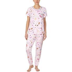 ケイト スペード Kate Spade New York レディース パジャマ・上下セット インナー・下着【Brushed Jersey Long Pants Pajama Set】Jewelry Toss