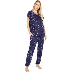 ケイト スペード Kate Spade New York レディース パジャマ・上下セット インナー・下着【Brushed Jersey Long Pants Pajama Set】Pop Dots