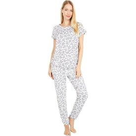 ケイト スペード Kate Spade New York レディース パジャマ・上下セット インナー・下着【Brushed Jersey Long Pants Pajama Set】Floral Toss