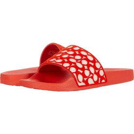 コーチ COACH レディース サンダル・ミュール シューズ・靴【Udele Flocked Sig Slide】Fiery Red