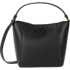 トリー バーチ Tory Burch レディース バッグ バケットバッグ【McGraw Small Bucket Bag】Black
