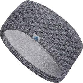 アディダス adidas レディース ヘアアクセサリー ヘッドバンド【Crestline Headband】Grey/Onix Marl