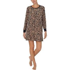 ケイト スペード Kate Spade New York レディース パジャマ・トップのみ インナー・下着【Stretch Velour Sleepshirt】Painted Leopard