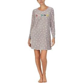 ケイト スペード Kate Spade New York レディース パジャマ・トップのみ インナー・下着【Stretch Velour Sleepshirt】Opal Bakery Dot